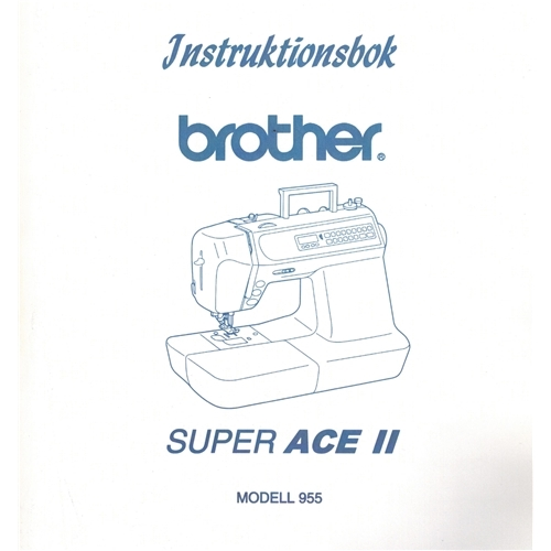 brother super ace ii instruction manual